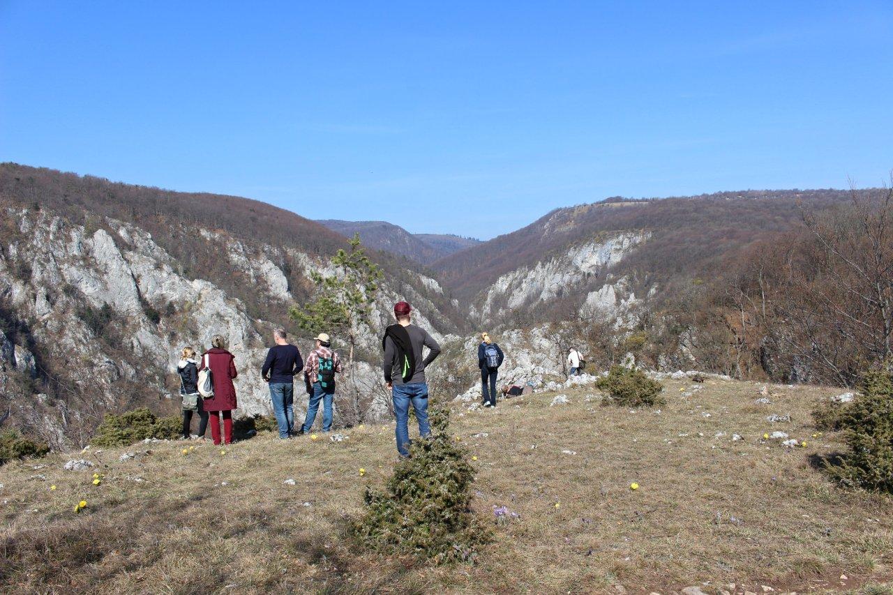 A tour to Zadielska Ravine (plain) in Kosice region, Slovakia
