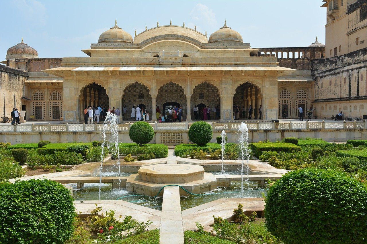 Amber (Amer) Fort and Palace in Jaipur, India