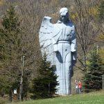 Angel in Haj village, Kosice region, Slovakia