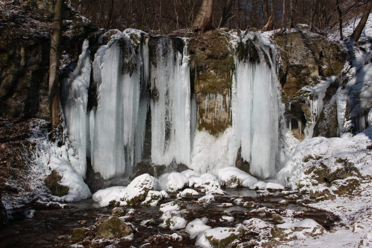 Hájske waterfalls, Slovak Karst National Park, Slovakia - 02
