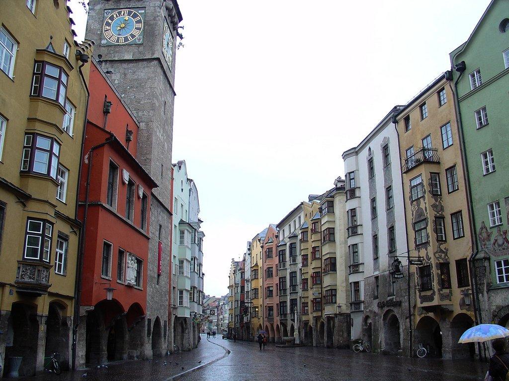 Innsbruck Altstadt, Austria