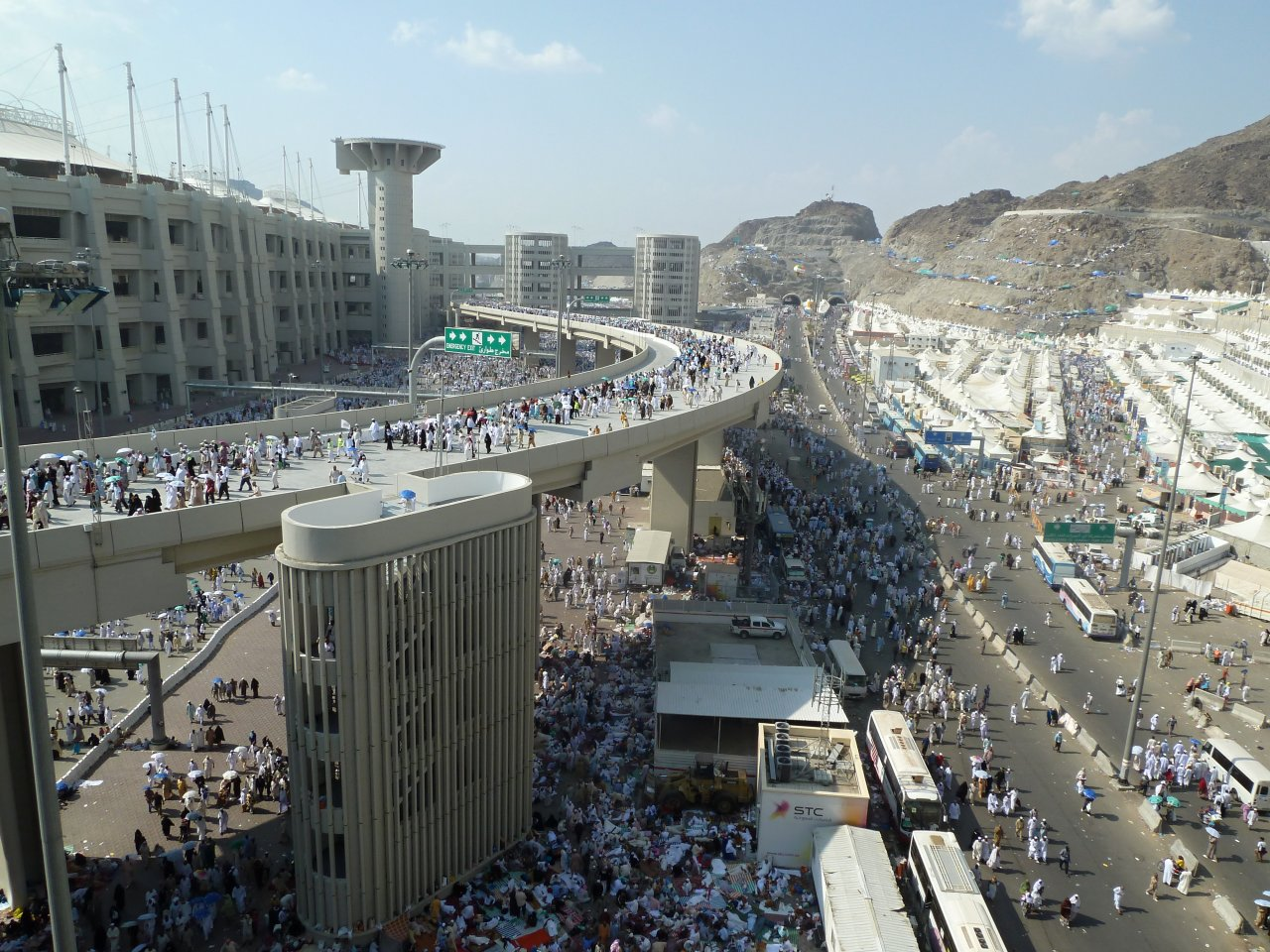 Jamarat Bridge, Saudi Arabia
