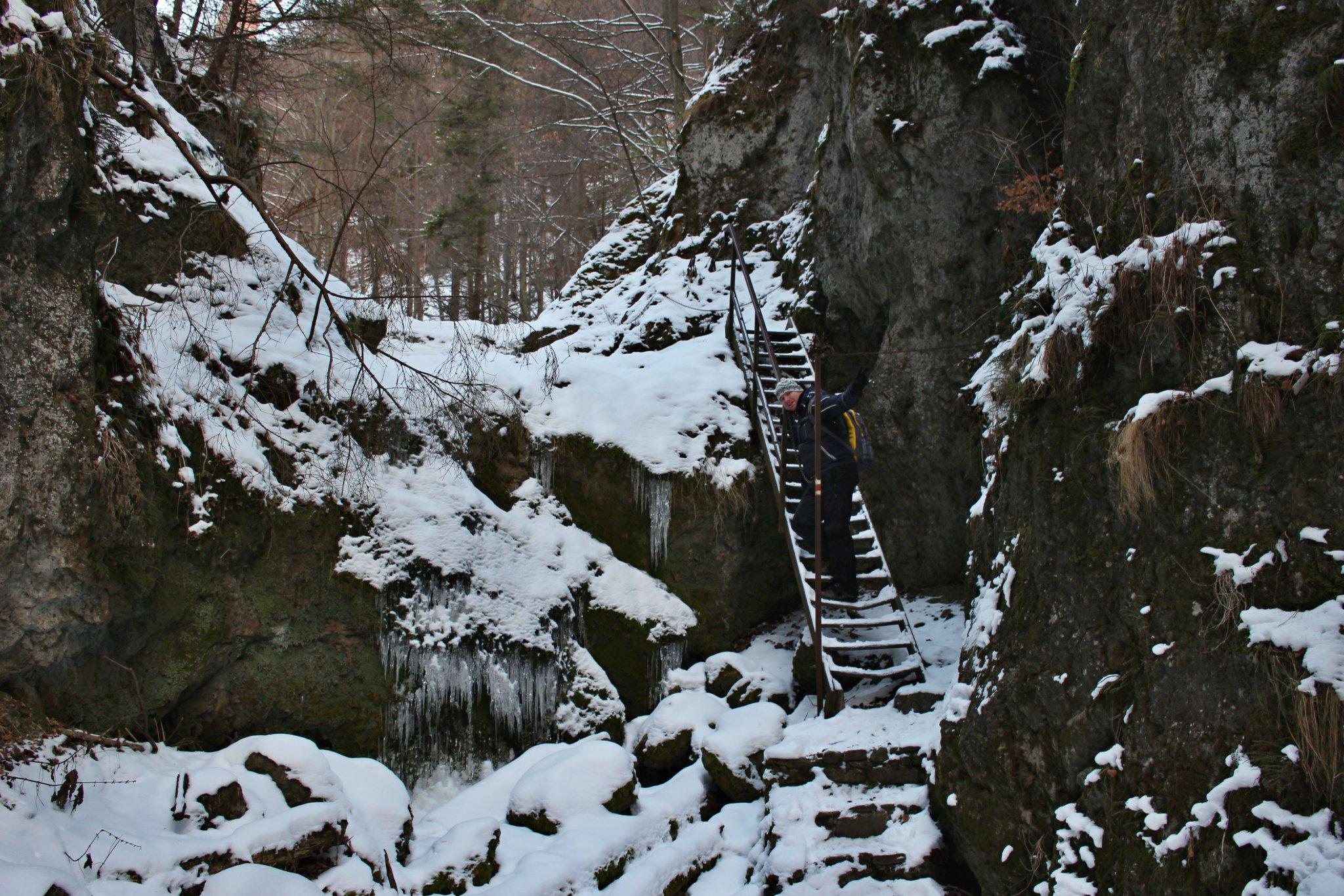 Lačnovský canyon, Lipovce, Prešov region, Slovakia - 03