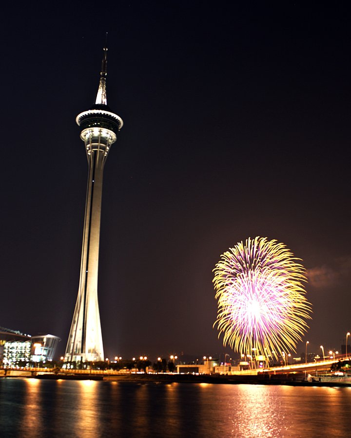 Macau Tower Fireworks