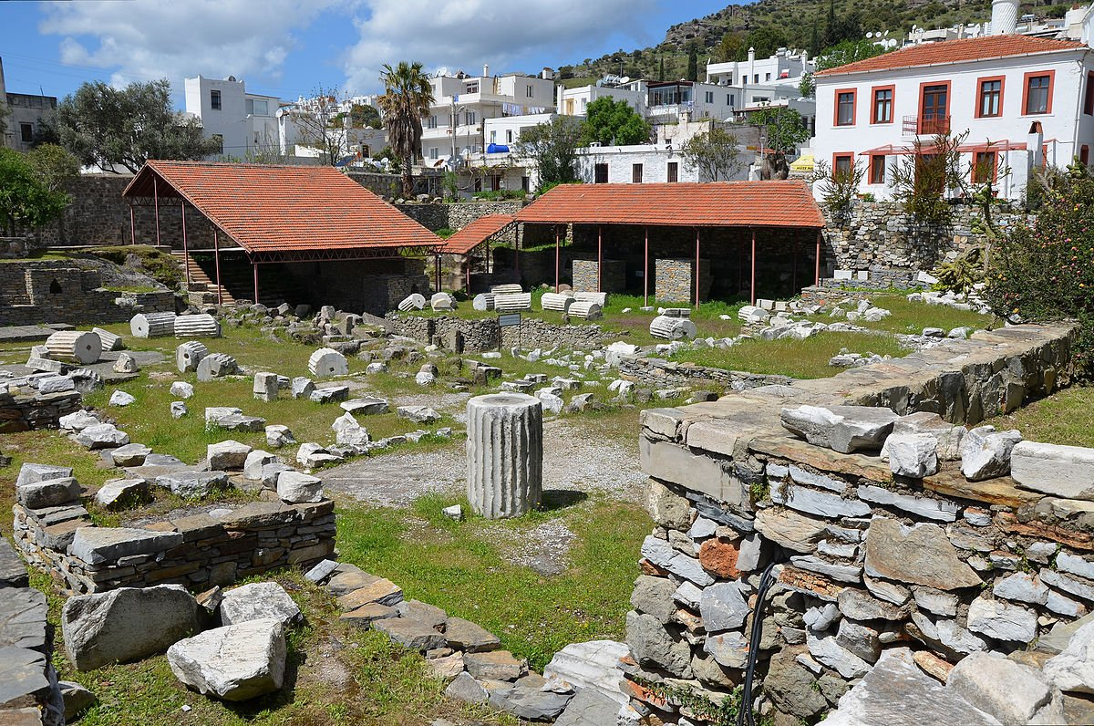 Mausoleum at Halicarnassus in Caria Bodrum Turkey