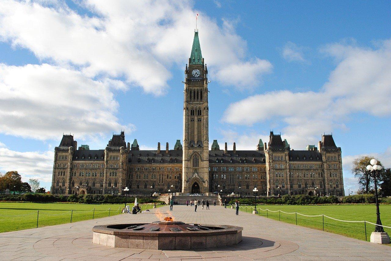 Ottawa's Parliament Hill, Canada