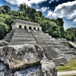 Palenque – an archaeological site, Mexico