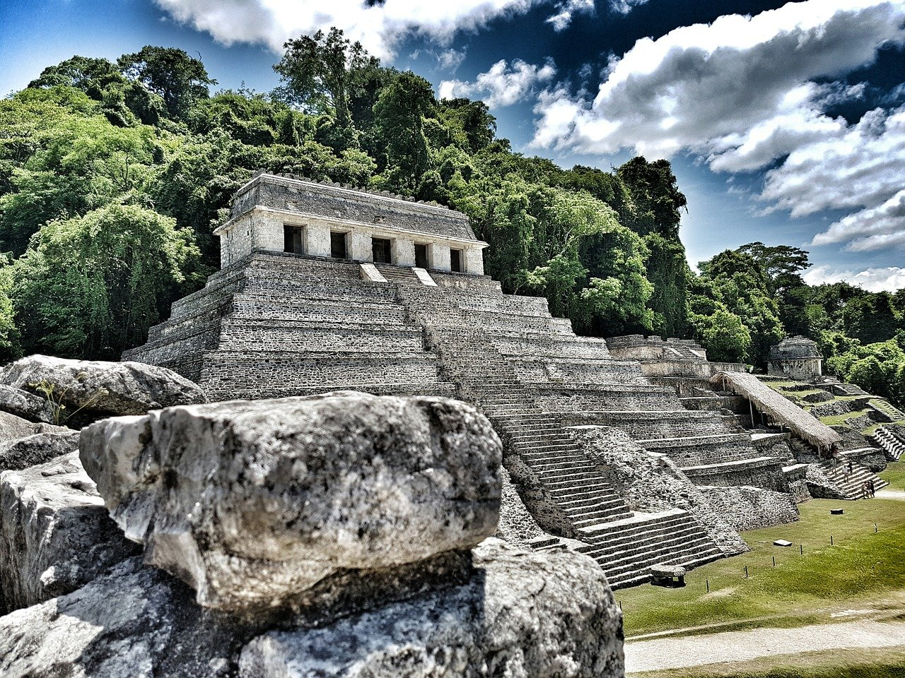 Palenque – an archaeological site Mexico