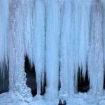 Šikľavá skala rock and frozen waterfall, Košice region, Slovakia 5