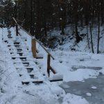 Suchá Belá gorge, winter hiking trip, Košice region, Slovakia - 1