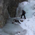 Suchá Belá gorge, winter hiking trip, Košice region, Slovakia - 13