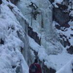Suchá Belá gorge, winter hiking trip, Košice region, Slovakia - 15