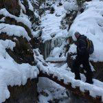 Suchá Belá gorge, winter hiking trip, Košice region, Slovakia - 17