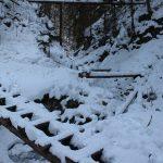 Suchá Belá gorge, winter hiking trip, Košice region, Slovakia - 2