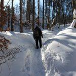 Suchá Belá gorge, winter hiking trip, Košice region, Slovakia - 24