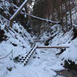 Suchá Belá gorge, winter hiking trip, Košice region, Slovakia - 3