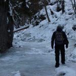 Suchá Belá gorge, winter hiking trip, Košice region, Slovakia - 4