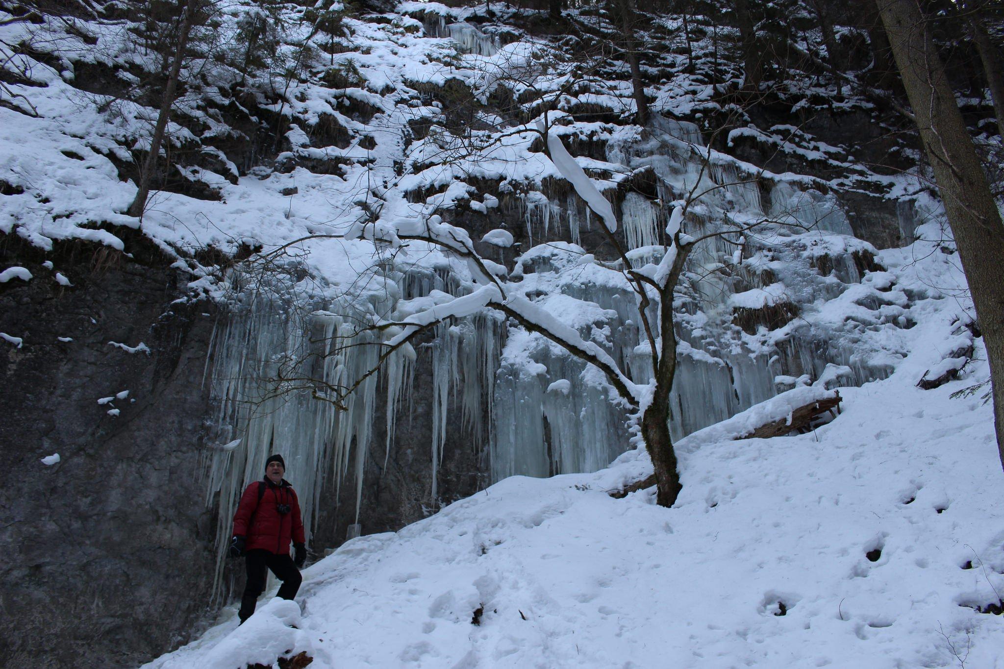 Suchá Belá gorge, winter hiking trip, Košice region, Slovakia – 5