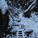 Suchá Belá gorge, winter hiking trip, Košice region, Slovakia - 6