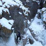 Suchá Belá gorge, winter hiking trip, Košice region, Slovakia - 7