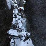 Suchá Belá gorge, winter hiking trip, Košice region, Slovakia - 9