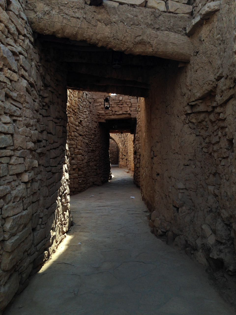 The ancient town inside Al Dar'i Quarter, Saudi Arabia