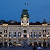 Trieste, Piazza Unità d'Italia, Municipio, Italy