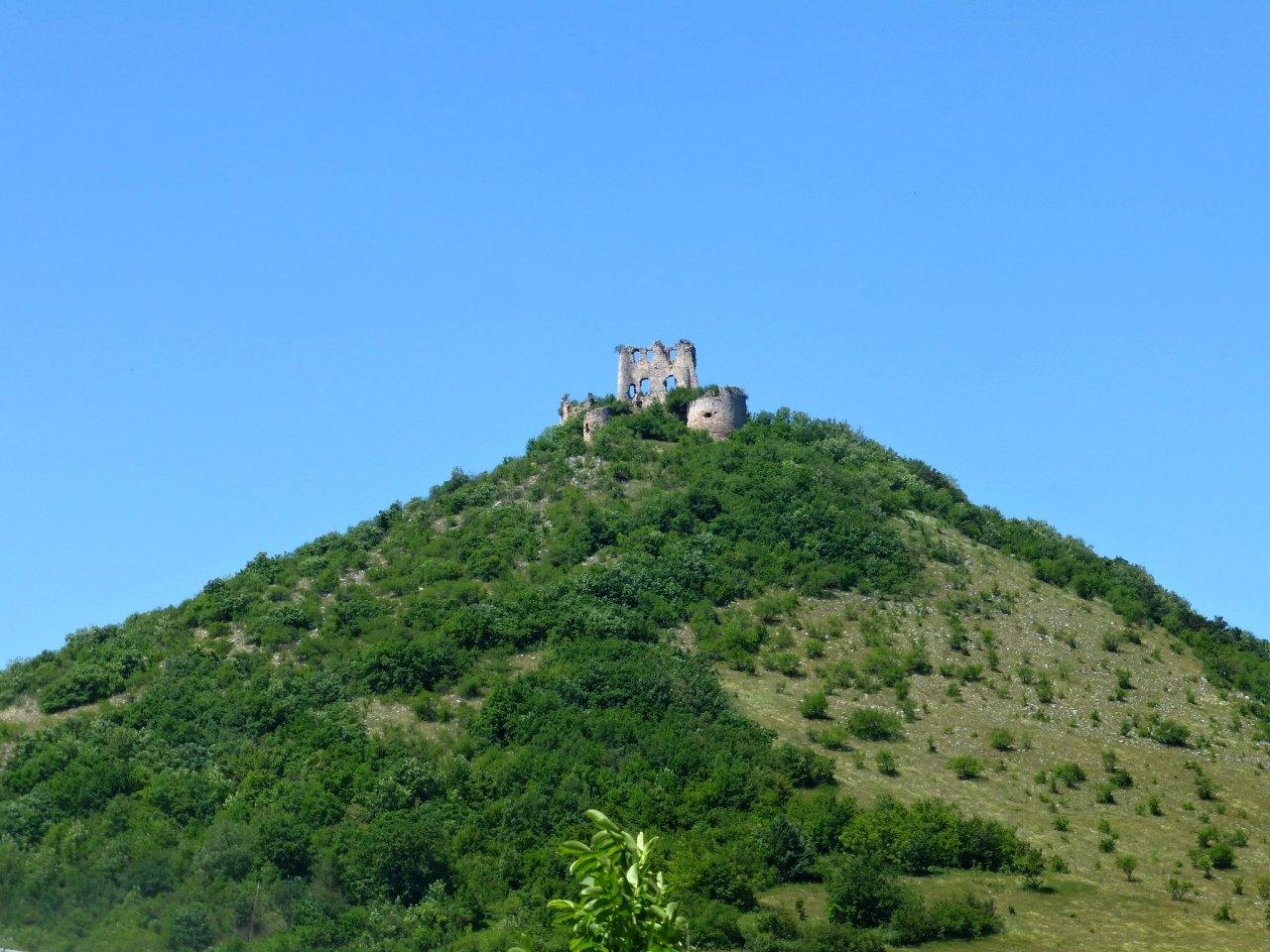Turniansky hrad castle ruins, Kosice region, Slovakia