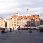 Warsaw Old Market Place, Poland