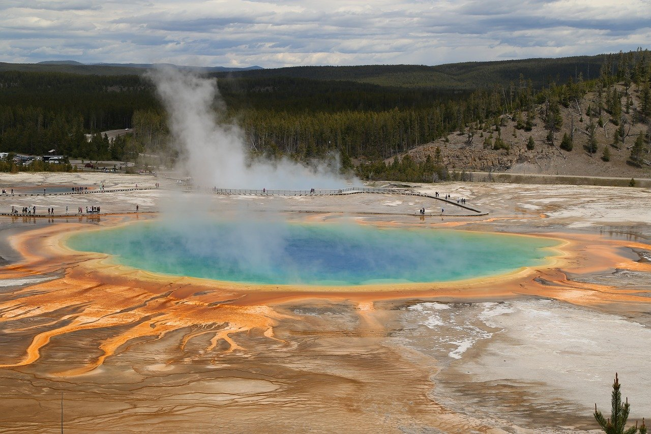 Grand Prismatic, Yellowstone National Park, USA