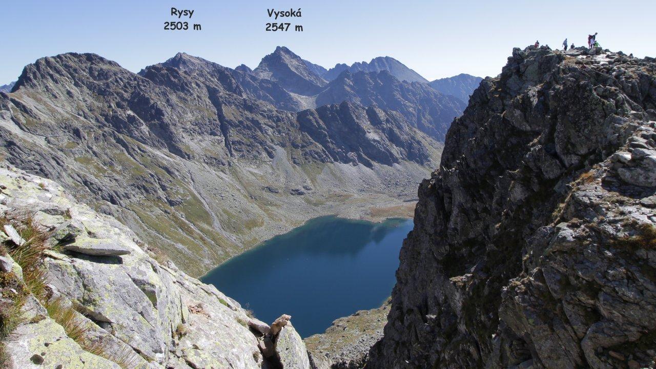A view from Koprovsky stit, High Tatras, Slovakia