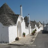Aia Piccola district, Alberobello, Italy