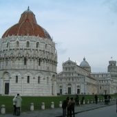 Baptistery, Pisa Cathedral and Leaning Tower, Italy
