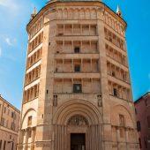 Baptistery of Parma, Italy