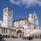 Basilica of Saint Francis of Assisi, Assisi, Italy