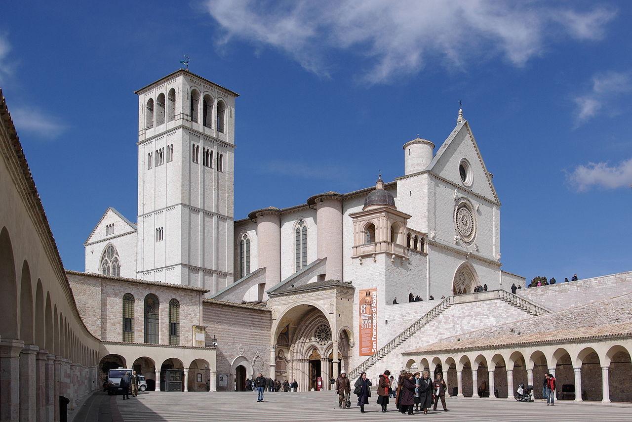 Basilica of Saint Francis of Assisi, Assisi, Italy