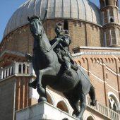 Equestrian statue of Gattamelata, Padova, Italy