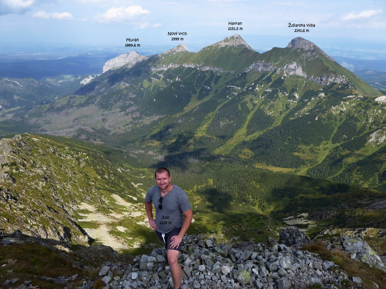 Jahňací štít, Tatra mountains, Slovakia