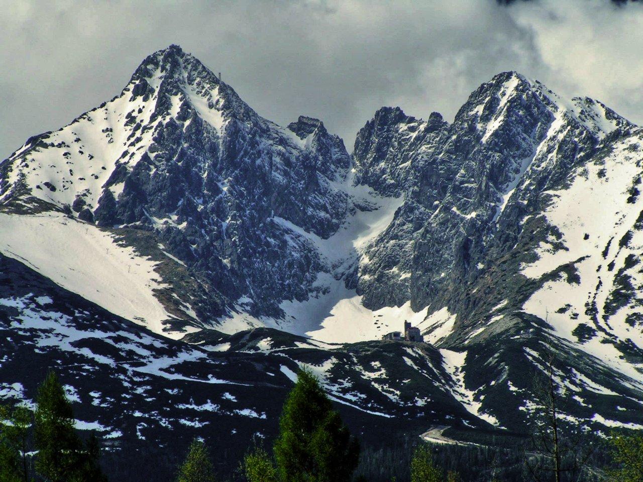 Lomnický štít peak, Tatra mountains, Slovakia