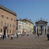 Piazza Sordello, Mantova, Italy
