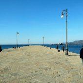 Molo Audace, Trieste, Italy