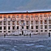 Palazzo della Carovana, Piazza dei Cavalieri, Pisa, Tuscany, Italy