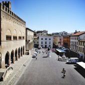 Piazza Cavour, Rimini, Italy