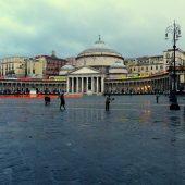 Piazza del Plebiscito, Napoli, Italy
