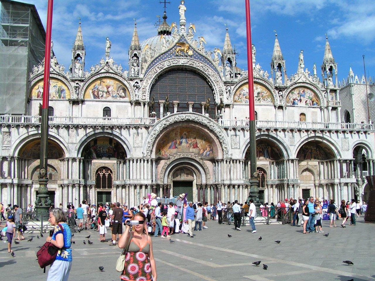 Piazza San Marco with Basilica di San Marco, Venice, Italy