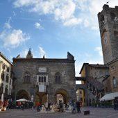 Piazza Vecchia, Bergamo, Lombardy, Cities in Italy