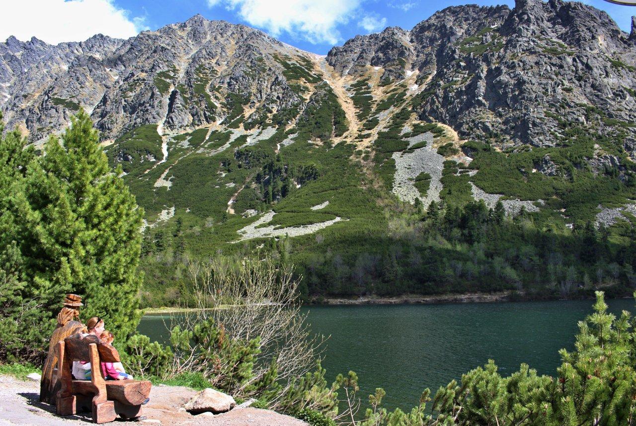 Popradské pleso lake, Tatra Mountains, Slovakia