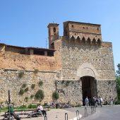 Porta San Giovanni, San Gimignano, Italy