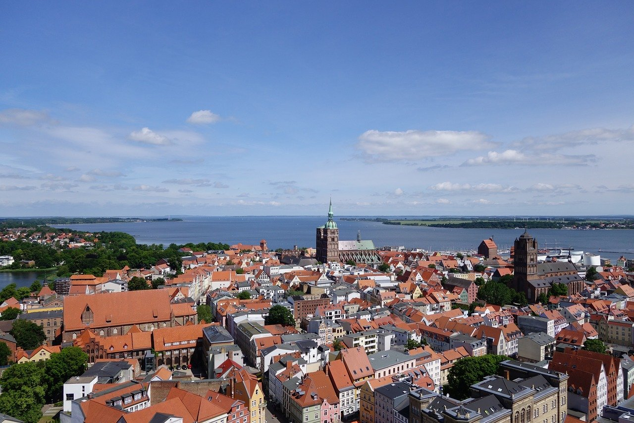 Stralsund, Cities in Germany