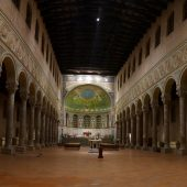 The Basilica of Sant'Apollinare in Classe in Ravenna, Italy